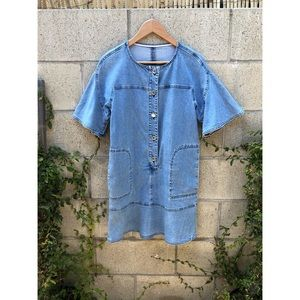 See By Chloe Denim Shirt Dress